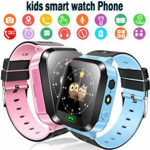 Armbanduhr Kinder Uhr GPS Tracker Schrittzähler SIM SOS Smartwatch Wasserdicht