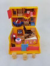 Vintage Polly Pocket Forever Friends 3 Bear figures par Bluebird toys 1995