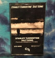 STANLEY TURRENTINE  Cassette  SALT SONG Play Tested CTI-8008