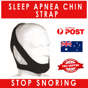 UNISEX Stop Snoring Chin Strap Anti Snore Sleep Apnea Belt Device Solutions Jaw
