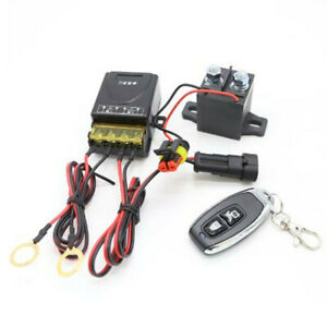 Battery Isolator Switch Disconnect Power Cut Off Kill for DC 12V Car RV Truck