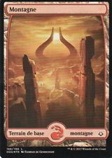 MTG Magic - Âge de la Destruction - Montagne N°188 Full Art - Premium / Foil VF