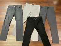 Authentic H&M Gray Tone / Black Pants (Men's US Size 34 - 36) ~ PRE-OWNED