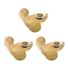 3 Pack Metal Golden Saxophone Thumb Hook Rest Instrument Practice Parts