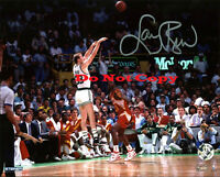 Celtics Larry Bird autographed 8x10 photo RP