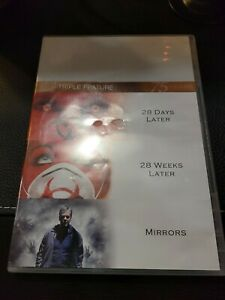 Three Feature Films- 28 Days Later, 28 Weeks Later & Mirrors DVD - 3 disc set