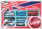 Corgi Juniors The Best of British 7 Piece Die-Cast Gift Set. 1981