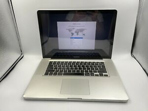 "Apple MacBook Pro Mid 2010 15"" A1286 Core i5 2.4GHz 4GB RAM 320GB HDD GRADE C"