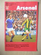 1977-78 FA CUP SEMI FINAL - WEST BROMWICH ALBION v IPSWICH TOWN, 8th April