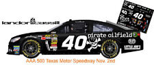 Cd_1753 #40 Landon Cassill Pirate Oilfield 2013 Chevy 1:64 Scale Decals