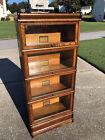 Rare 3/4 Oak Globe Wernicke D299 Barrister Bookcase