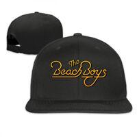 The Beach Boys Gold Logo Snapback Baseball Hat Adjustable Cap