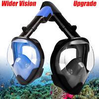 Anti-Fog Full Face Snorkel Mask Swimming snorkeling scuba diving Mask For GoPro