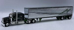 DCP Jerry Linander Trucking Kenworth W900 Tractor Truck w Trailer 1/64 Diecast