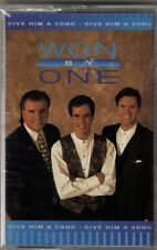 """WON BY ONE...""""GIVE HIM A SONG""""......NEW SEALED GOSPEL CASSETTE"""