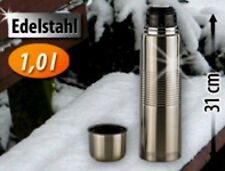 Stainless Steel Thermos with Cup in lid 1,0 L-New & Immediately