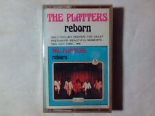 THE PLATTERS Reborn mc cassette k7 ITALY UNIQUE RARA SIGILLATA VERY RARE SEALED!