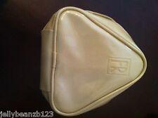 FLORI ROBERTS DESIGNER Cosmetic bag make-up  CREAM PVC , genuine and new Posh  !
