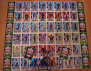 Force Attax Clone Wars Serie 5 Force Meister aussuchen Topps Star Wars Karten