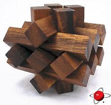 Lumberjack - Wood  Brain Teaser Wooden Puzzle NEW - Log Jam NOGGIN busters