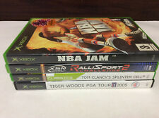 Xbox Original 4 Spielepaket incl NBA JAM