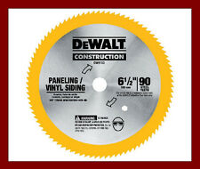 "DeWalt DW9153 90T 165mm 6.5"" Plywood Veneer Circular Saw Blade for DC390 DCS391"