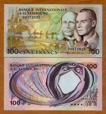 Luxembourg 100 Francs, 1981 P-14A, UNC >  Pre-Euro