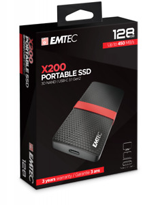 Emtec - External / Portable SSD drive - USB C 3.1