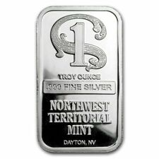 Northwest Territorial Mint - Silberbarren 1 Unze