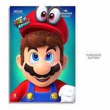 SUPER MARIO ODYSSEY Poster 13x19in W/Ur Name & 3D Sparkles+FoamBoard Back
