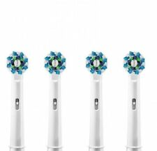 4 Pcs Electric Tooth Brush Heads Replacement Fit For Braun Oral-B Cross Action