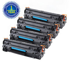4PK CE285A 85A Toner Cartridge For HP LaserJet P1102 P1102w M1212nf m1217nfw MFP