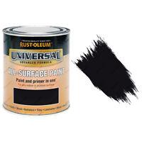 Rust-Oleum Universal toutes surfaces auto apprêt (brosse) peinture noir satiné