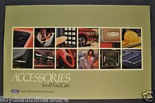 1984 Ford Accessories Brochure LTD Crown Victoria Mustang Thunderbird EXP Tempo