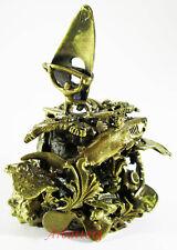 """Beautiful Russian bronze bell. """"Surfer"""" Surfing Shark Decorative Handmade #35"""