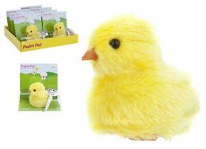2 x Plush Palm Pet Chirpy Chick Mini Playful Chick Plush Cuddly Soft Toy Easter