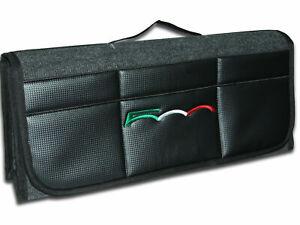 Organizador ordenado para maletero de coche, frente de cuero sintético de...