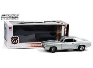 CHEVROLET CAMARO ZL1 Coupe Barrett Jackson silver 1:18 GREENLIGHT 18029