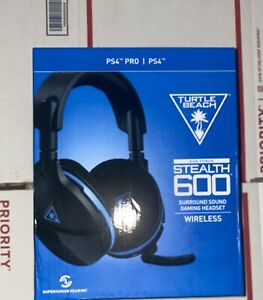 Turtle Beach Ear Force Stealth 600 Surround Sound Wireless Headset for PS4 NEW