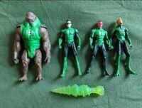 Set of Green lantern Action Figures bundle - DC 3.75