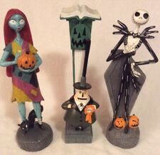 Nightmare Before Christmas Jack Skellington Mayor & Sally Figurine Set Halloween