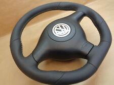 Lederlenkrad VW GOLF 4 PASSAT B5 BORA LEON TOLEDO SKODA steering wheel GTI R
