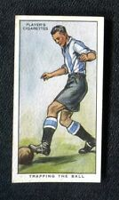 John Player: Hints on Association Football 1934: No 14: Trapping The Ball