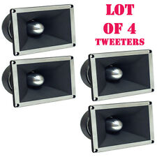 """Lot of (4) Pyle PDBT78 2"""" Titanium Super Tweeters, 350 Watts RMS/700 Watts Peak"""