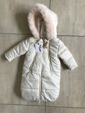 Jessica Simpson coat Baby Snow Suit Cream 3-6 Months Stunning all in one winter