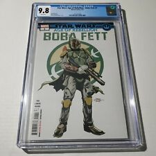 Star Wars Age of Rebellion Boba Fett 1 CGC 9.8 White Pages Marvel Comic 7/19 HOT