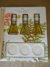 Yankee Candle Relaxing Rituals Reed Diffuser Blending Kit Comfort Card Rose Cedr
