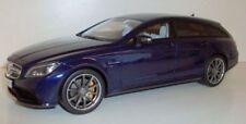 Véhicules miniatures bleus GTspirit Mercedes
