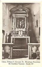MONTELUPO FIORENTINO - Chiesa Plebana S. Giovanni Ev. - SS.Crocifisso Venerato