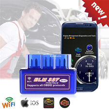 ELM327 Mini WIFI OBD2 Car Code Scanner for Android/iOS Diagnostics Scan Tool NEW